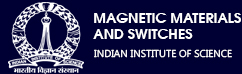 Magnetic Materials and Switches