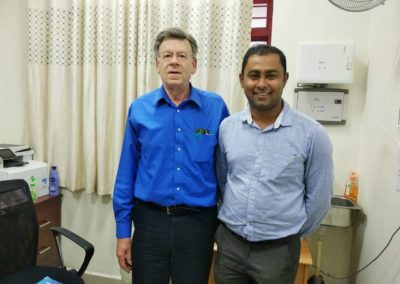 Prof Joel S. Miller's Lab Visit 2