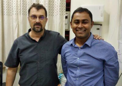 Rodolphe's Lab Visit